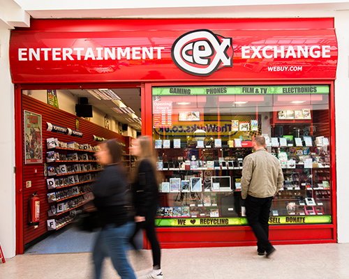 CeX CeXLocated In Sheffield City Centre Crystal Peaks Has Nearly 103 Stores Including A Variety Of Shops Eateries From High Street
